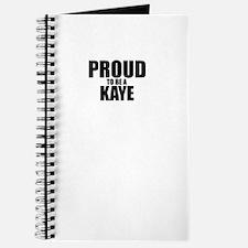 Proud to be KAYE Journal