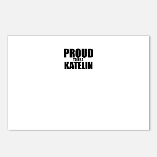 Proud to be KATELIN Postcards (Package of 8)