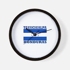 Tegucigalpa, Honduras Wall Clock