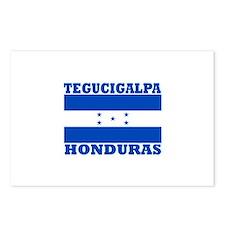 Tegucigalpa, Honduras Postcards (Package of 8)