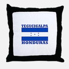 Tegucigalpa, Honduras Throw Pillow