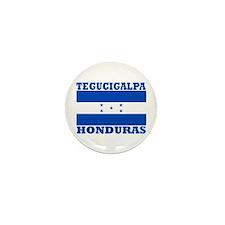 Tegucigalpa, Honduras Mini Button (10 pack)