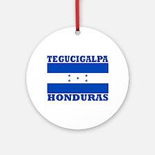 Tegucigalpa, Honduras Ornament (Round)
