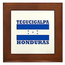 Tegucigalpa, Honduras Framed Tile