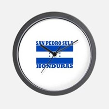San Pedro Sula, Honduras Wall Clock
