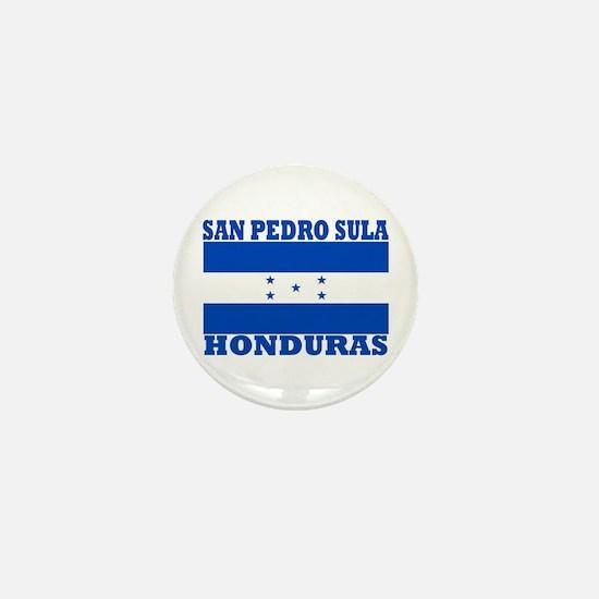 San Pedro Sula, Honduras Mini Button