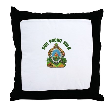 San Pedro Sula, Honduras Throw Pillow