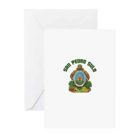 San Pedro Sula, Honduras Greeting Cards (Pk of 10)