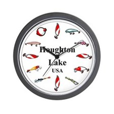 Houghton Lake Clocks Wall Clock