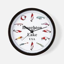 Houghton Lake Clocks Wall Clock
