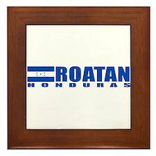 Roatan, Honduras Framed Tile