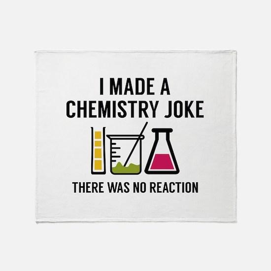 I Made A Chemistry Joke Stadium Blanket