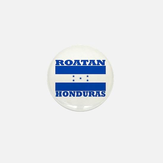 Roatan, Honduras Mini Button