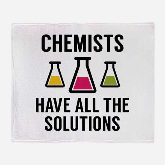 Chemists Have All The Solutions Stadium Blanket