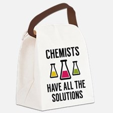 Chemists Have All The Solutions Canvas Lunch Bag