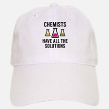 Chemists Have All The Solutions Baseball Baseball Cap