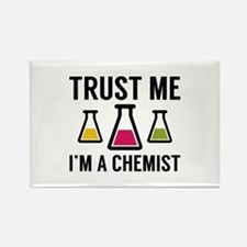 Trust Me I'm A Chemist Rectangle Magnet