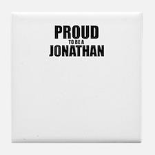 Proud to be JONAH Tile Coaster