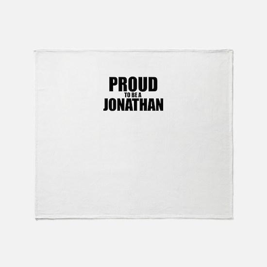 Proud to be JONAH Throw Blanket