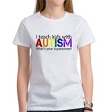Teach autism superpower Women's T-Shirt