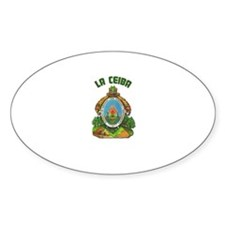 La Ceiba, Honduras Oval Decal
