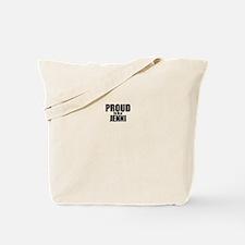 Proud to be JENNI Tote Bag
