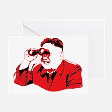 Cool North korea Greeting Card