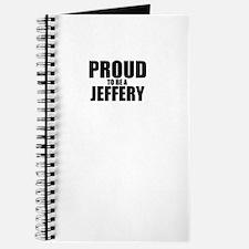 Proud to be JEFFERY Journal