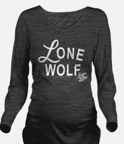 Lone Wolf Long Sleeve Maternity T-Shirt