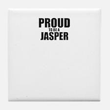 Proud to be JASPER Tile Coaster