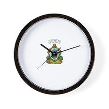 Copan, Honduras Wall Clock