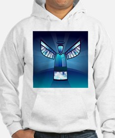 Abstract Angel Hoodie