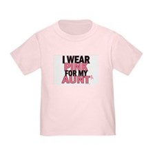 I Wear Pink For My Aunt 5 T