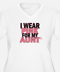 I Wear Pink For My Aunt 5 T-Shirt