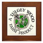 Tulgey Wood Farm Products Framed Tile