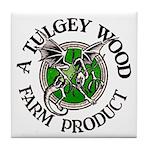 Tulgey Wood Farm Products Tile Coaster
