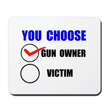 GUN RIGHTS Mousepad