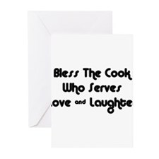 Bless The Cook Greeting Cards