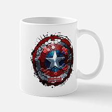 Captain America Hexagon Shield Mug