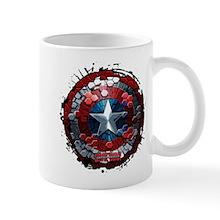 Cap America Hex Shield Mug