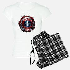 Captain America Hexagon Shi Pajamas