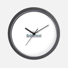 Bubblehead Wall Clock