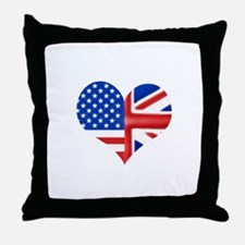 baheartforblack.png Throw Pillow