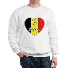 Pray For Belgium Sweatshirt