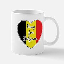 Pray For Belgium Mug