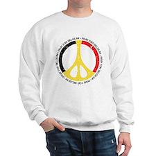 Belgium Peace Sweatshirt
