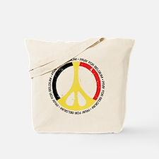 Belgium Peace Tote Bag