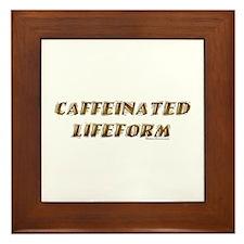 Caffeinated Framed Tile