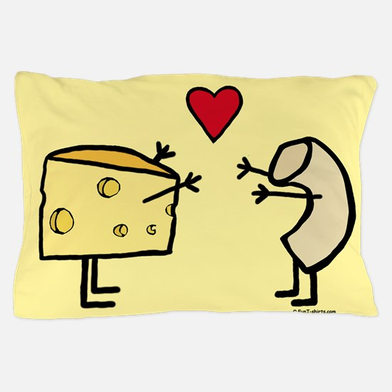 Macaroni and Cheese Love Pillow Case