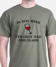 In Dog Wine T-Shirt